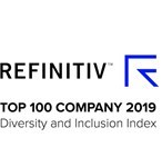 Number two in the 2019 Refinitiv Diversity & Inclusion Index