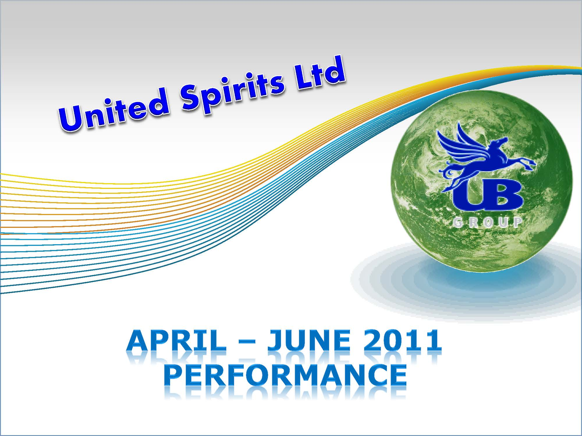 Unaudited Financial Results (Provisional) for the three months ended June 30, 2011