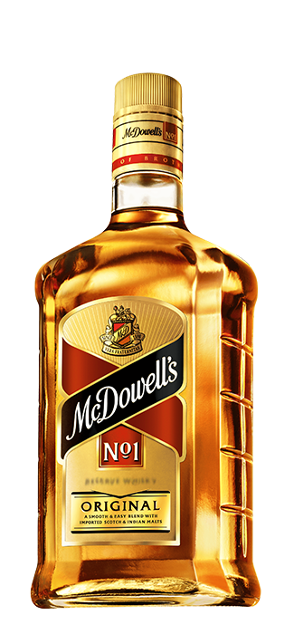 McDowell's No.1 bottle