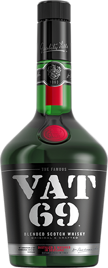 VAT 69 bottle